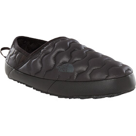The North Face ThermoBall Traction Mule IV Shoes Women Shiny TNF Black/Beluga Grey